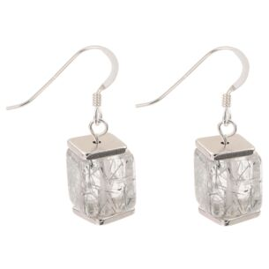 Silver Flecks Earrings