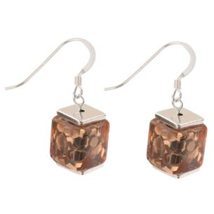 Copper Flecks Earrings
