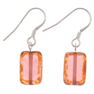 Picasso Rainbow Peach Earrings