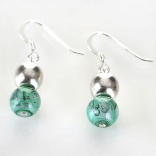 Jade Marbled Earrings