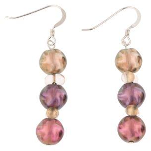 Pink Autumn Lustre Earrings