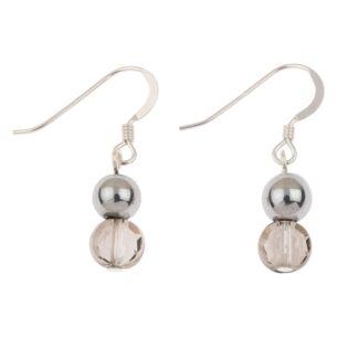 Silver Glitters Earrings