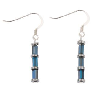 Blue Laces Earrings