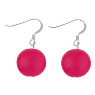 Pink Happy Earrings