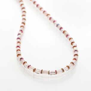 Blush Bridal Necklace