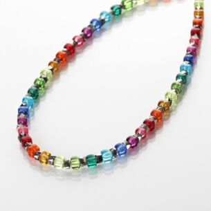 Carrie Elspeth Rainbow Sparkle Full Necklace