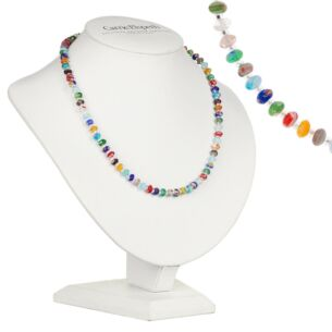 Spring Millefiori Full Necklace