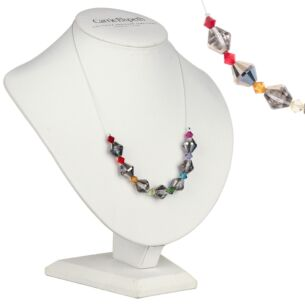 Crystal Lanterns Links Necklace