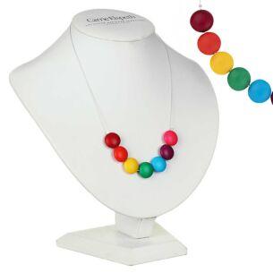 Happy Rainbow Links Necklace