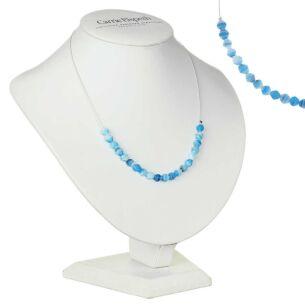 Blue Ice Floe Necklace
