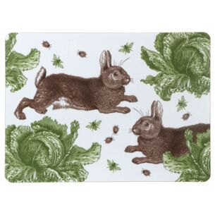 Rabbit & Cabbage Set of 4 Placemats