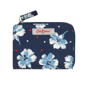 Fairfield Flowers Slim Folded Purse with Coin Slot