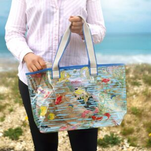 Ocean Fish PVC Tote Bag