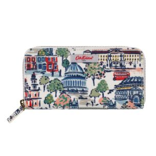 London View Continental Zip Wallet