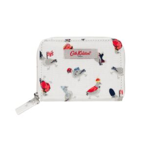 Parading Pigeons Pocket Purse