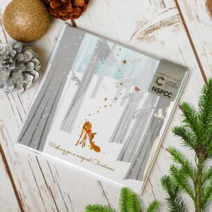 Winter Woods Pack of Six Charity Christmas Cards