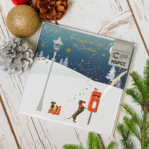 Post Box Pack of Six Charity Christmas Cards