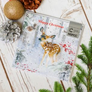 Little Deer Pack of 6 Christmas Cards Charity Pack