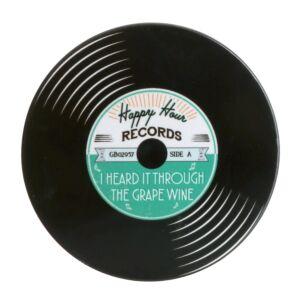 'I Heard It Through the Grape Wine' Record Coaster