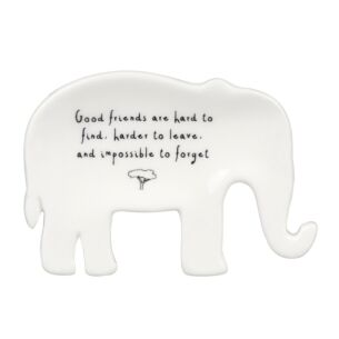 Send & Meant Elephant Ring Dish