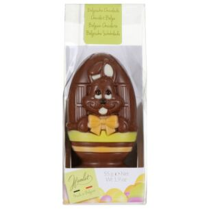 Easter 'Bunny In Egg Cup' Chocolate Character