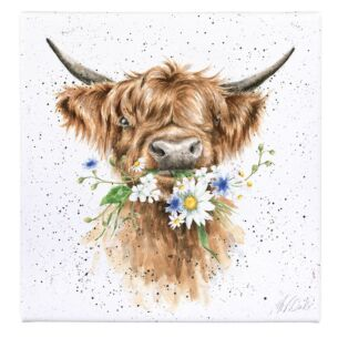 'Daisy Coo' Large Canvas