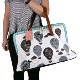 Disaster Designs Penny Black Panda Weekend Bag