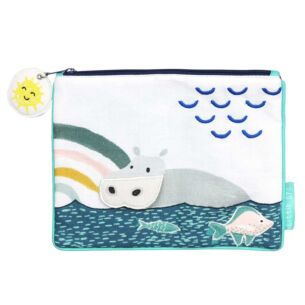 Little Arc Hippo Quilted Pouch