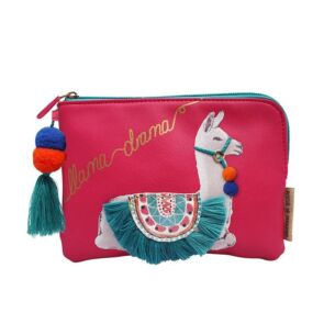 Disaster Designs Candy Pop Llama Zip Pouch