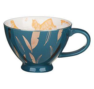 Heritage & Harlequin Tiger Teacup