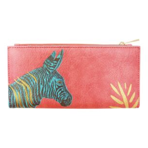 Heritage & Harlequin Zebra Wallet