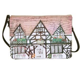 Disaster Designs Home Tudor House Shaped Bag