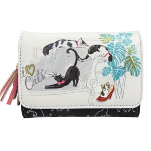 Keepsake 'I Love Cats' Purse