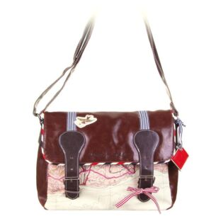 Paper Plane Satchel Bag