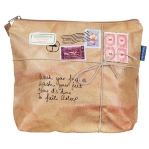 Paper Plane Wash Bag