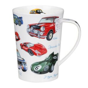 Motorsport Cars Argyll Shape Mug