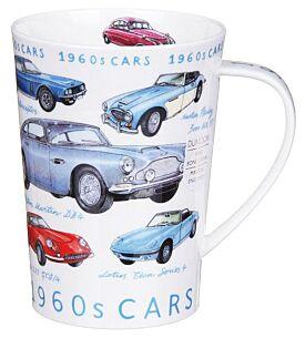Classic Cars 1960s Argyll Shape Mug