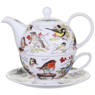 Dunoon Birdlife Tea For One Set