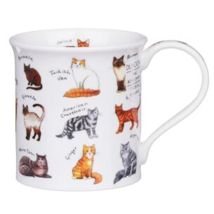 Animal Breeds Cat Bute Shape Mug
