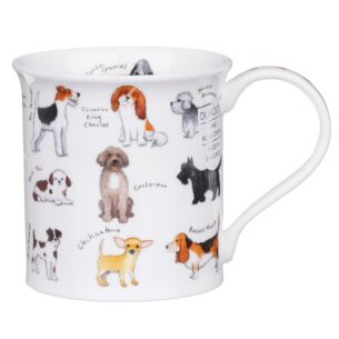 Dunoon Animal Breeds Dog Bute Shape Mug