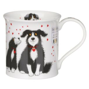 Puppy Love Bute Shape Mug