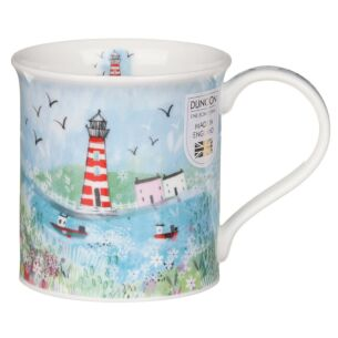 Seaside Cove Lighthouse Bute Shape Mug