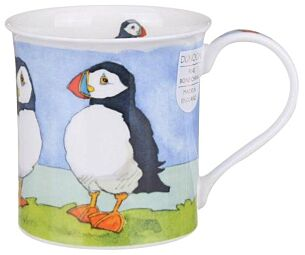 Seabirds Puffin Bute shape Mug