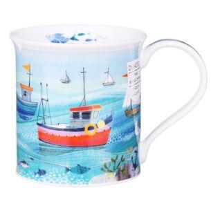 Shore Life Fish Boat Bute Shape Mug