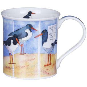 Shore Birds Oyster Catcher Bute Shape Mug