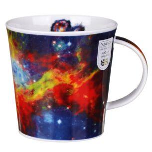 Cosmos Red Cairngorm Shape Mug