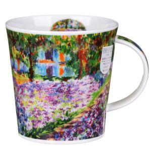Giverny Garden Cairngorm Shape Mug