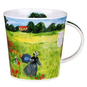 Giverny Poppyfield Cairngorm Shape Mug