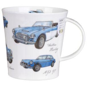 Great Classic Cars Blue Cairngorm Shape Mug
