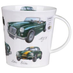 Great Classic Cars Green Cairngorm Shape Mug